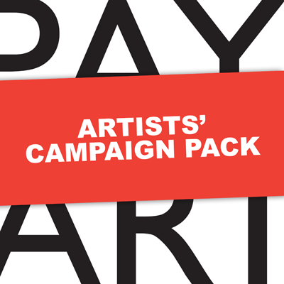 Paying Artists Campaign Pack
