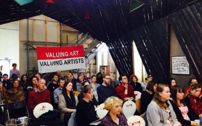 """""""Not paying artists is bad for you"""" Eastside Projects event explores fair pay policy"""