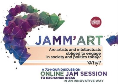 JAMM'ART: A 72-hour online discussion