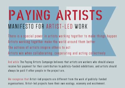 Artist-Led Manifesto
