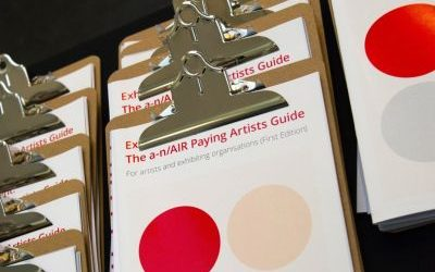 a-n to launch Paying Artists Working Group